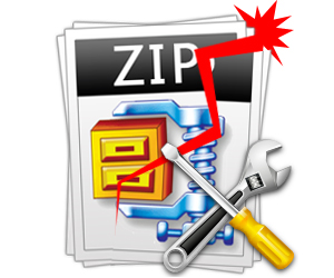Repair corrupted ZIP